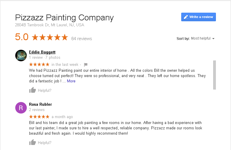 exterior painting services reviews