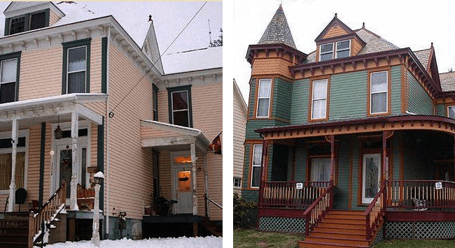 Residential Exterior Painting Before and After