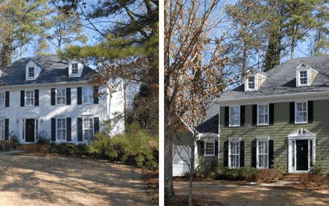 House Painting NJ - Before/After