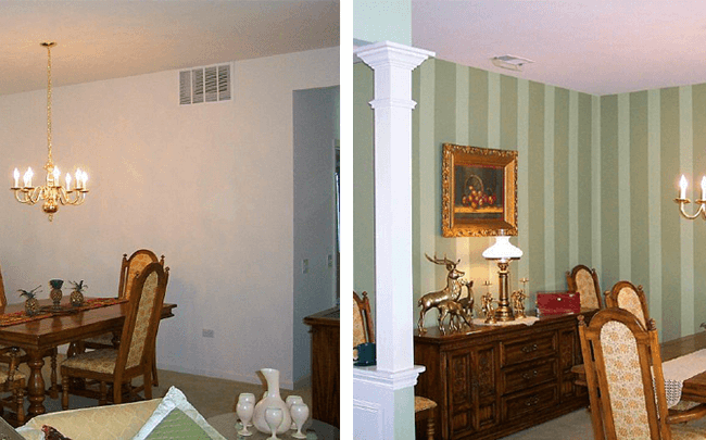 Interior Painting Services – Before/After
