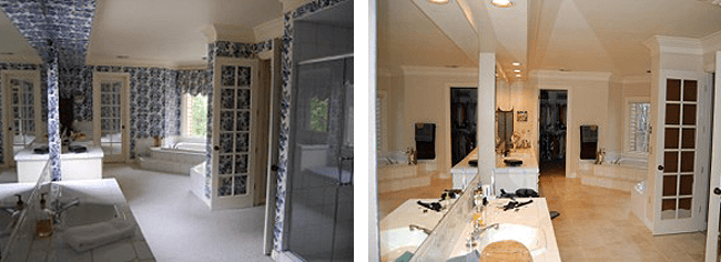 Residential Interior Painting NJ – Before/After