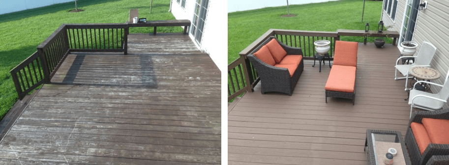 Residential Painting Before and After