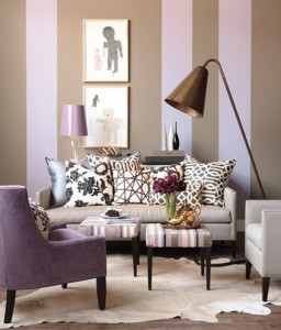 purple-light-brown-vertical-stripes-on-the-wall-living-room
